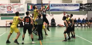 Palla a due Mascalucia - Amatori Basket Messina