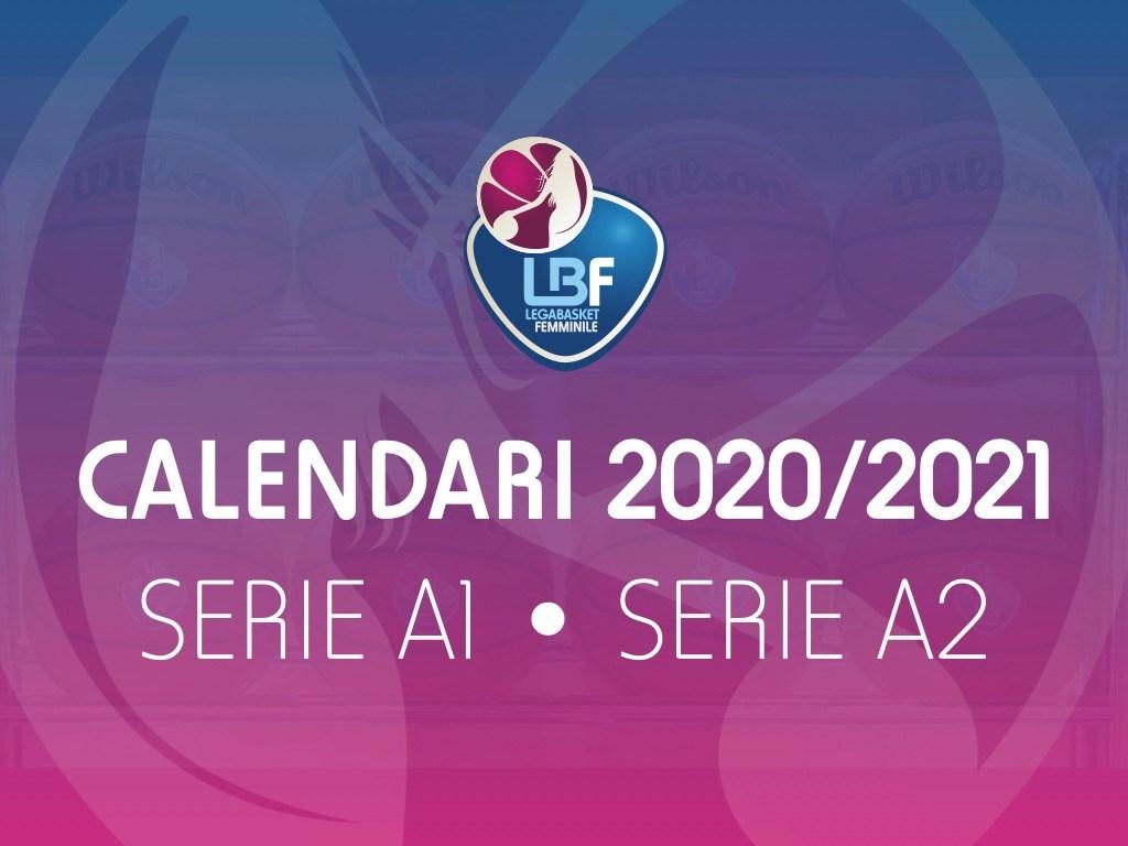 I calendari di Serie A1 e Serie A2 della stagione 2020/2021