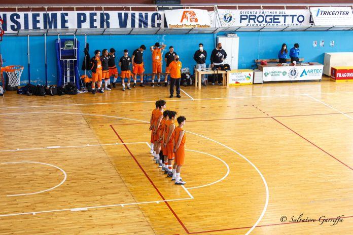 Amatori Basket Messina schierata - photo Salvo Garreffa