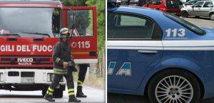 Cade muro in centro storico ad Agrigento, evacuate 16 persone