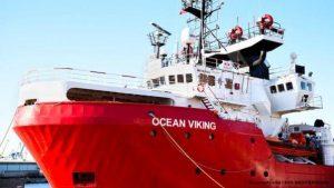 """Ancora incombente il caso """"Ocean Viking"""""""