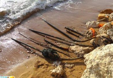 Gravi pericoli sulla spiaggia a San Leone, provvede MareAmico (video)