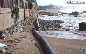 Nuovo disastro ambientale nel mare di San Leone