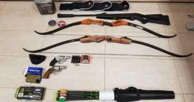 Armi e droga in aeroporto