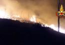 Incendio a Scopello, evacuate 14 villette