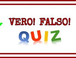 Quiz Vero e Falso