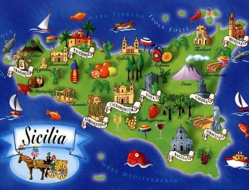 sicilia le 9 province
