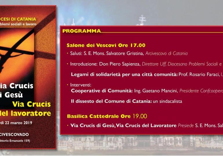 Catania fra momento di crisi economica e opportunità di ripresa. E' possibile dar vita ad un modello di città comunità?