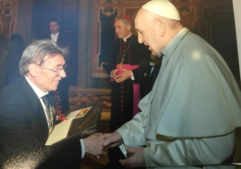 Papa Francesco riceve gli acconciatori catanesi