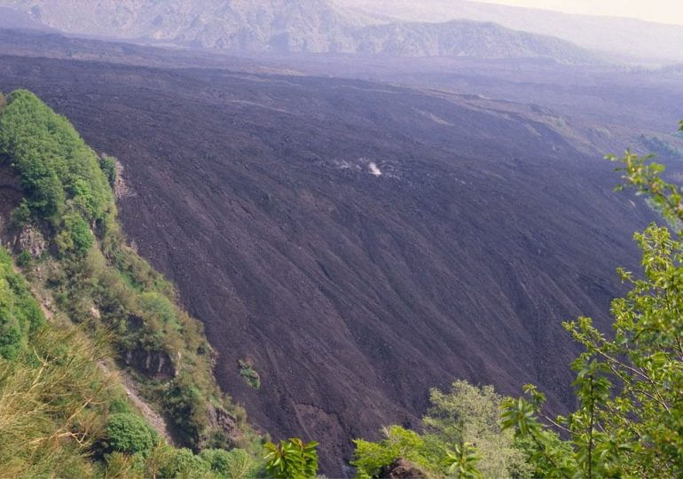 Sisma sull'Etna di magnitudo 2.7