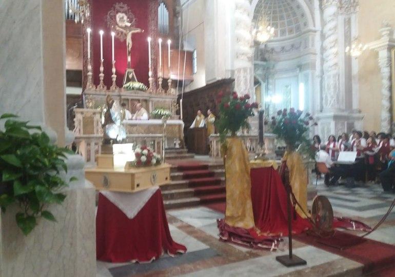 A Linguaglossa il velo di Sant'Agata