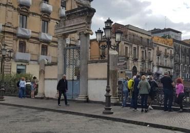 Catania, anfiteatro romano di piazza Stesicoro: il presidente Musumeci annuncia la piena fruibilità dopo le proteste