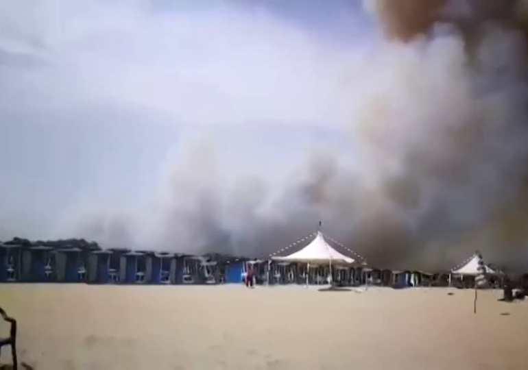 Dopo le fiamme alla Plaja arriva Musumeci