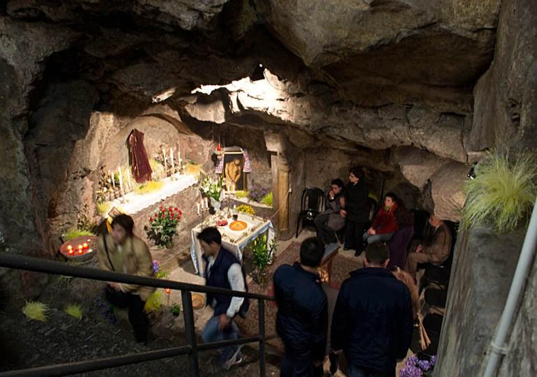 In una grotta lavica il primo luogo di fede cristiano a Catania