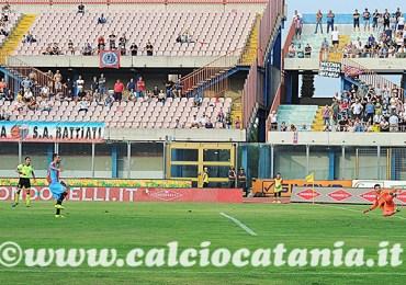 Il Catania a Potenza per la prova del 3