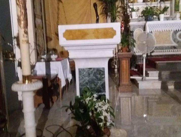 Giarre, un nuovo altare nella Chiesa di San Camillo