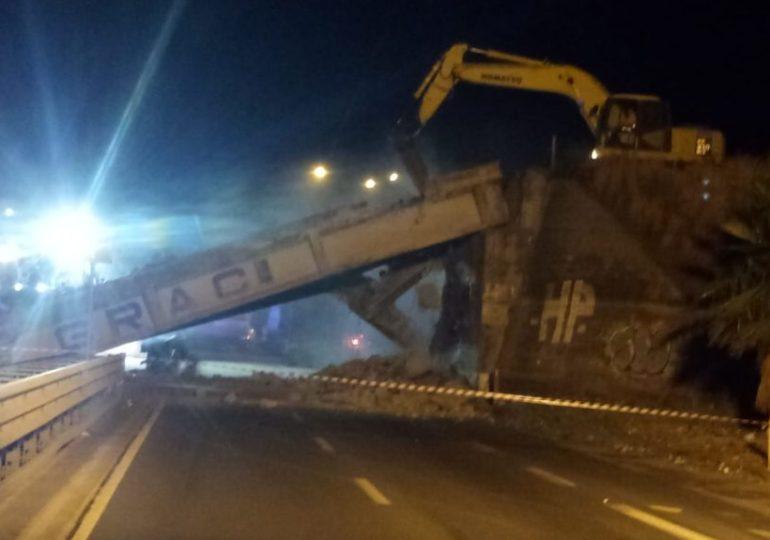 Ponte Graci: abbattuto velocemente, ma la ricostruzione...