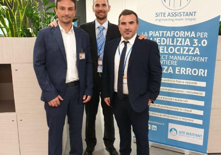 """Tre uomini e una """"gamba"""" digitale per il mondo delle costruzioni"""