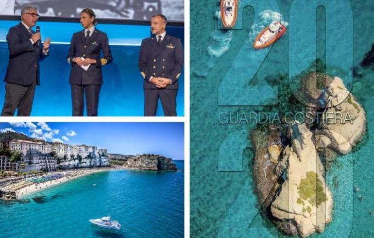 Fabrizio Villa, il fotografo volante: sue le immagini del calendario della Guardia costiera