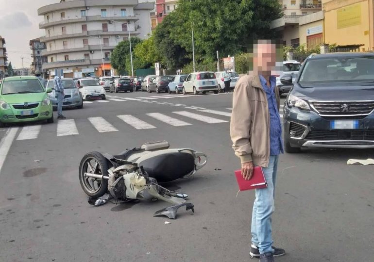 Catania, via Imperia a rischio: un altro incidente