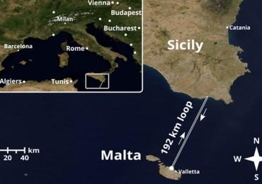 Da Malta alla Sicilia e ritorno: connessione quantistica sotto il mare