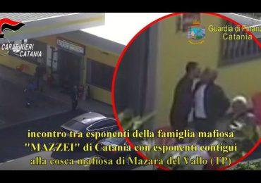 Asse Catania-Trapani col clan Mazzei: estorsioni, scommesse e carburante