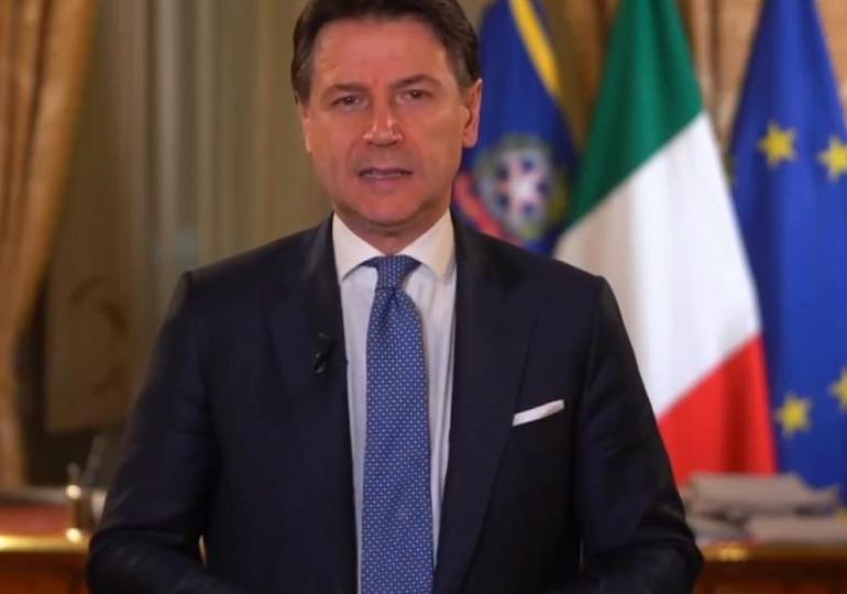 """Coronavirus, il premier Conte: """"Italia zona protetta"""". Attività didattiche sospese sino al 3 aprile"""
