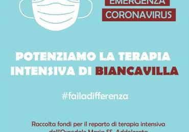 Coronavirus, raccolta fondi per potenziare la terapia intensiva di Biancavilla