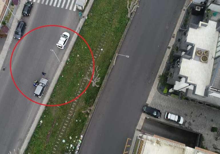 Biancavilla, droni sulla città per il controllo del traffico veicolare