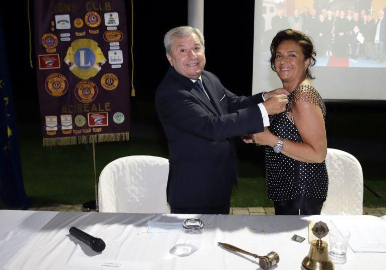 Cettina Laudani è il nuovo Presidente del Lions Club Acireale