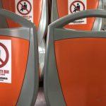 Covid-19: stop a distanziamento su autobus e treni