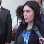 """Palermo, il ministro Lucia Azzolina: """"la scuola non si piega"""""""