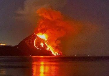 """Fiamme su Monte Cofano, devastata riserva naturale. Sindaco Custonaci: """"azione criminale"""""""