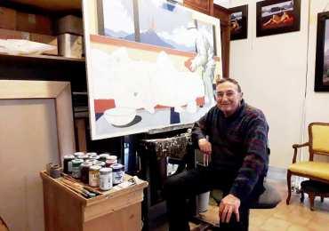 """Zafferana Etnea capitale d'arte. VII Premio internazionale di pittura """"Sciuti"""" assegnato a Edi Brancolini"""