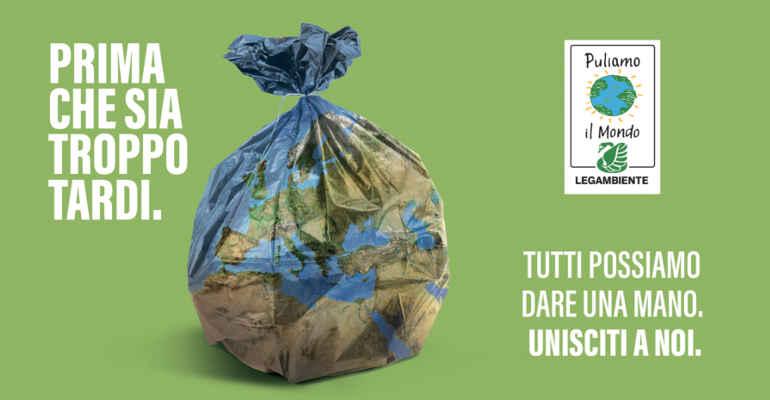 """""""Puliamo il mondo"""", la campagna nazionale Legambiente"""