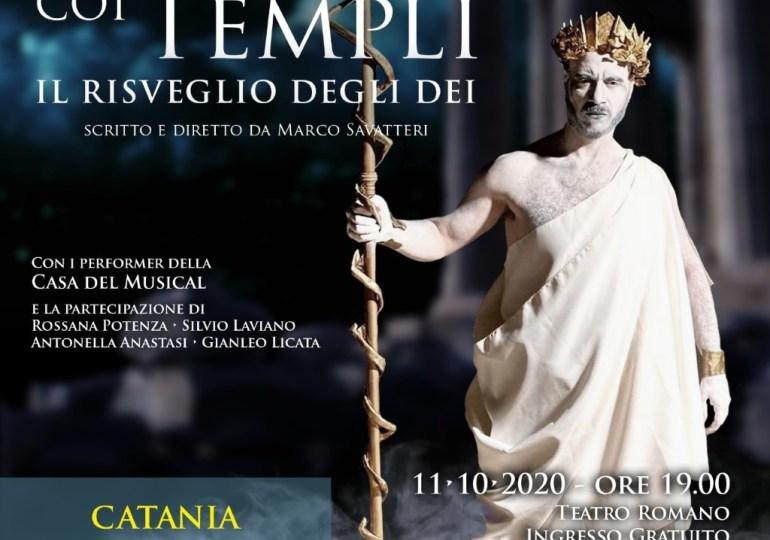 """""""Al passo coi Templi – Il Risveglio degli dei"""" a Catania"""