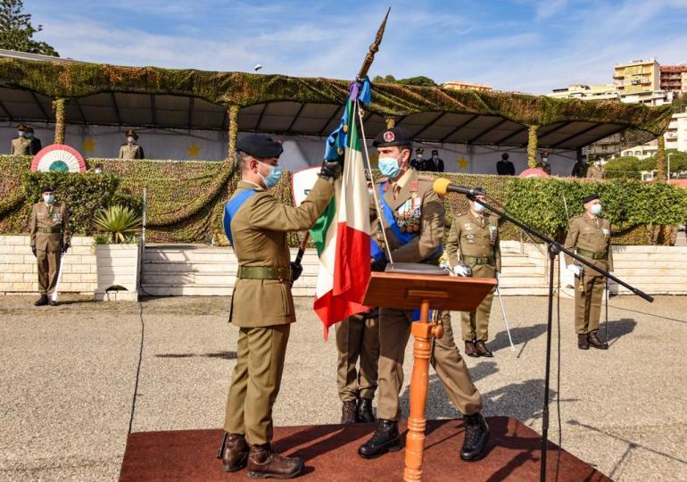 A Messina avvicendamento alla guida del 5° Reggimento Fanteria della Brigata Aosta