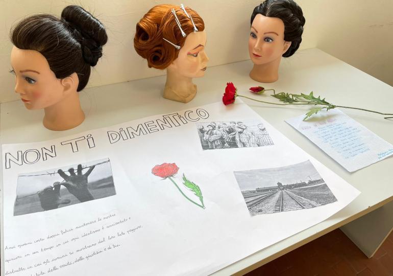 Biancavilla: il centro di formazione professionale Cirs ricorda la Shoah