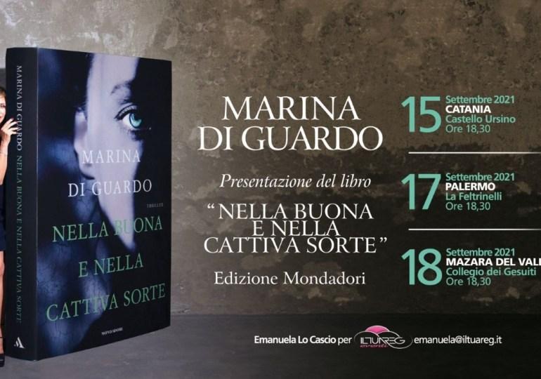 Libri: tre tappe in Sicilia per la scrittrice Marina Di Guardo