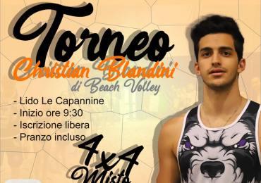 """Memorial di beach volley """"La forza di Christian"""""""