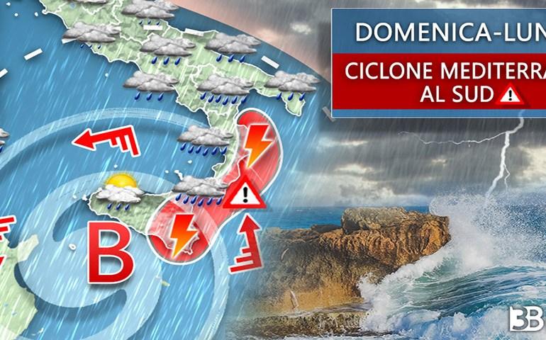 Meteo Sicilia: temporali e maltempo nel weekend