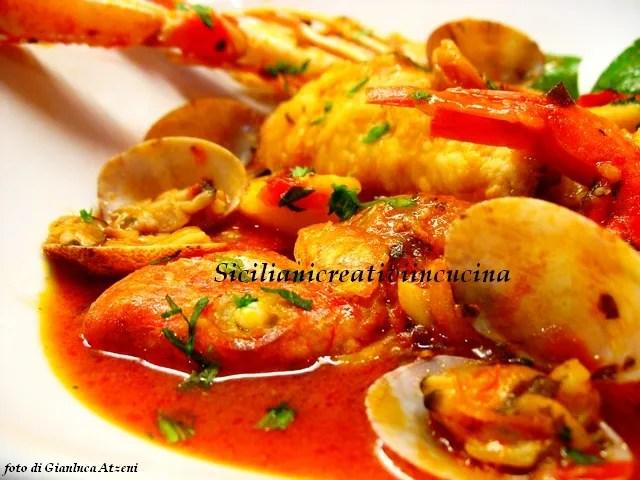 Zuppa Di Pesce Siciliani Creativi In Cucina