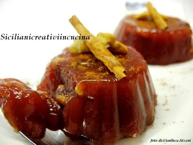 La mostarda siciliana d'uva
