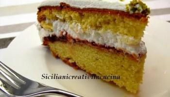 Torta Con Panna E Fragoline Di Bosco Siciliani Creativi In Cucina