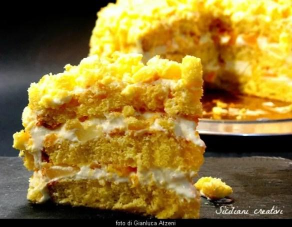 Gâteau Mimosa, ma non fatela solo per l'8 marzo. Le gâteau Mimosa est l'un des plus célèbres desserts de pâtisseries italiennes et le plus aimé par les enfants et les adultes.