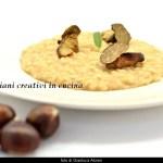 Risotto aux châtaignes, champignons Porcini, Truffe
