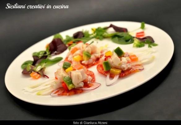 Dal Peru arriva la ceviche: pesce marinato con frutta, verdura e succo di agrumi