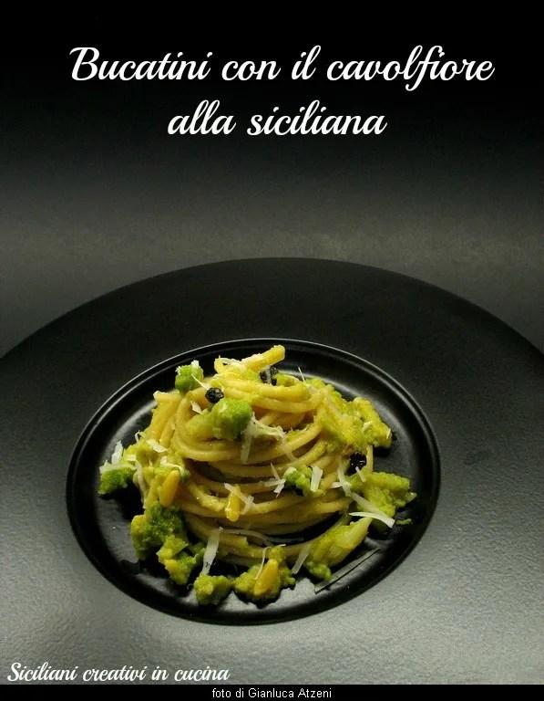 Pasta con coliflor alla siciliana