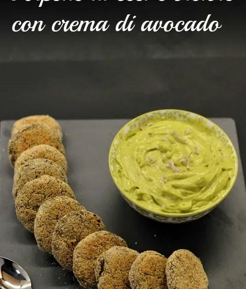 Polpette di ceci e bietole con crema di avocado: ricetta vegana facile