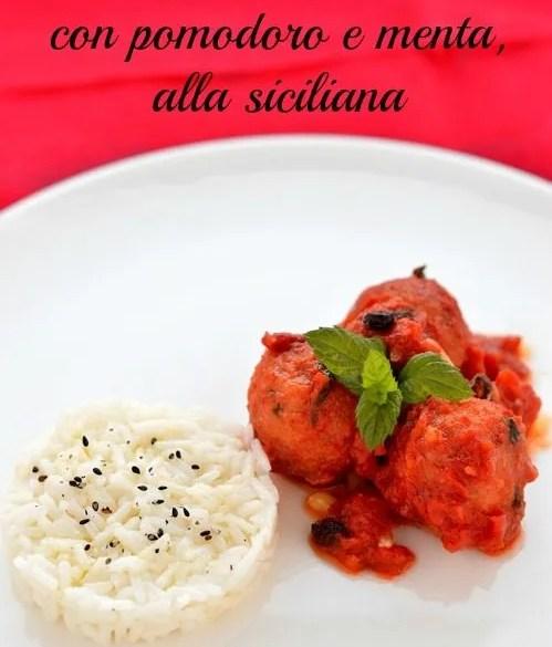 Polpette di tonno al pomodoro, ricetta siciliana facile e golosa